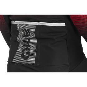 Alé Cycling PRS Dots DWR Longsleeve Jersey Herr black-red